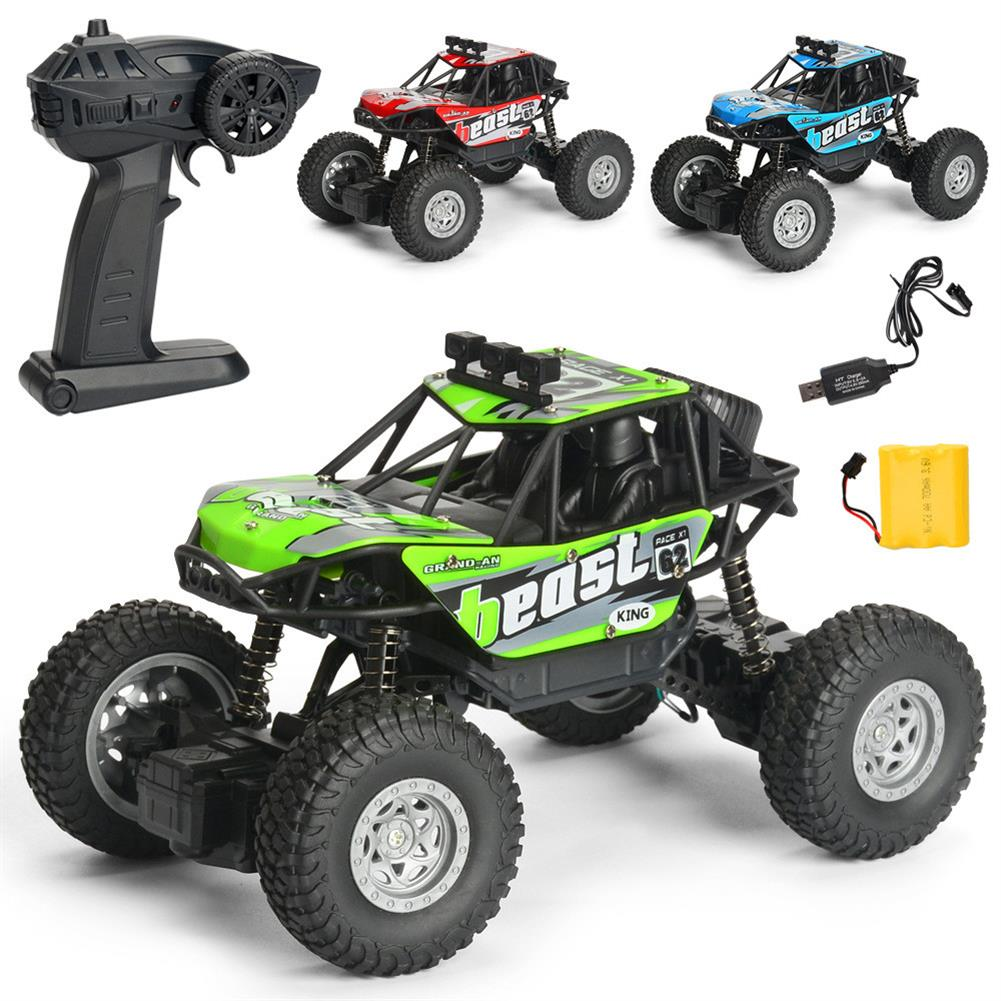 rc-cars 1PC MG A601 1/20 2.4G 4WD 15km/h Rc Car Rock Crawler Climbing Off-road Truck RTR Toy RC1391934 2