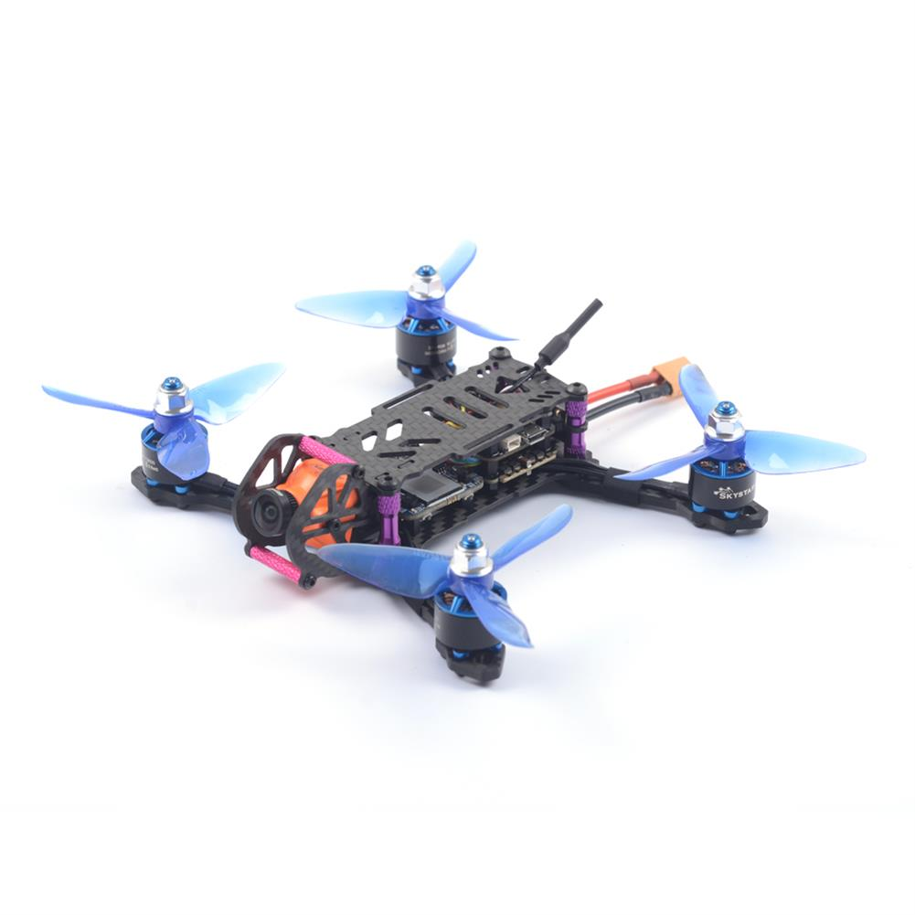 fpv-racing-drones Skystars BabyTurtle 145mm FPV Racing Drone F4 8K FC OSD 25/200mW VTX RunCam Split Mini2 DVR Camera RC1392494 4