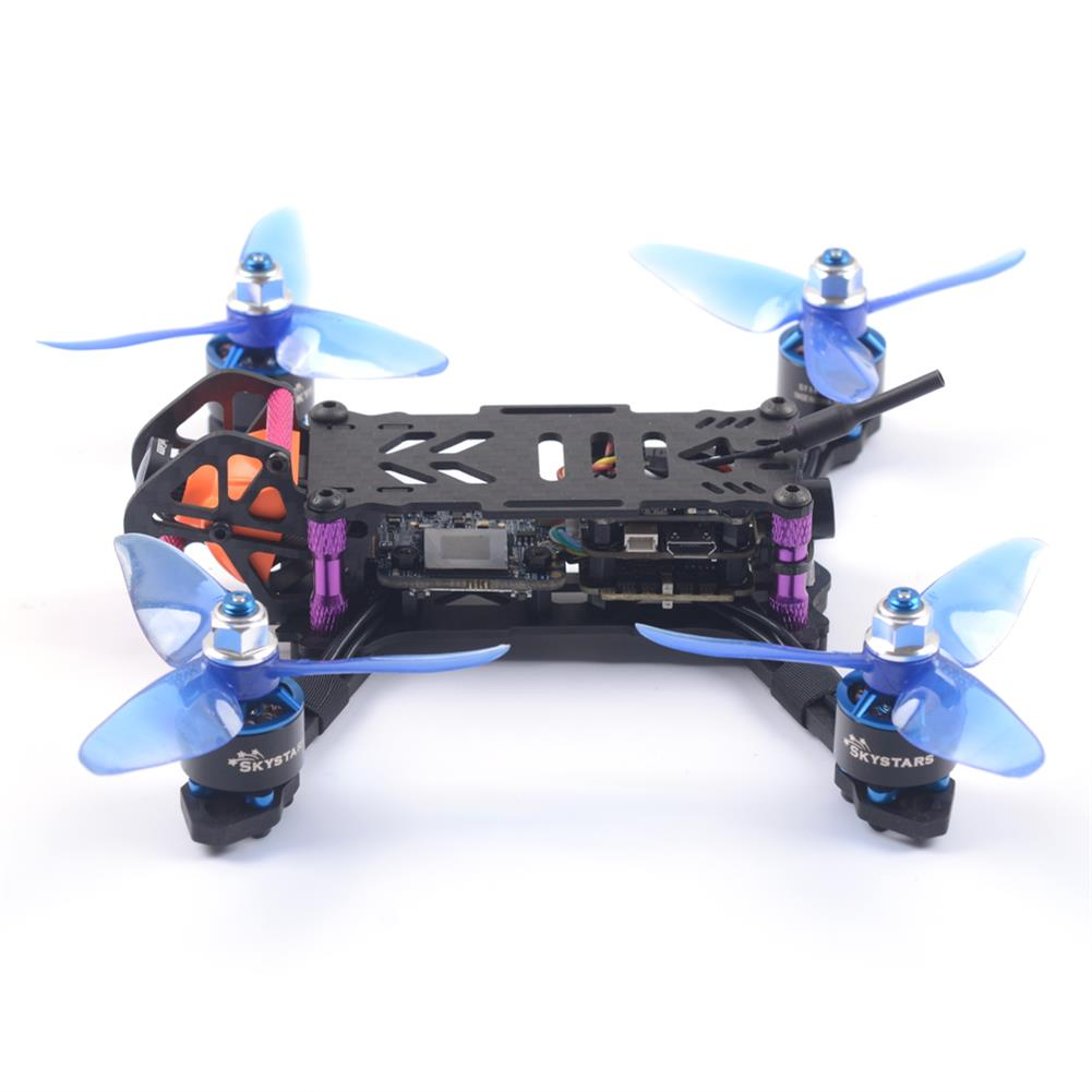 fpv-racing-drones Skystars BabyTurtle 145mm FPV Racing Drone F4 8K FC OSD 25/200mW VTX RunCam Split Mini2 DVR Camera RC1392494 5