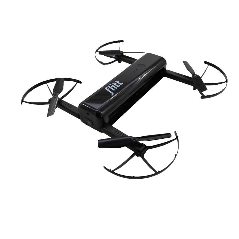 rc-quadcopters Flitt 720P WIFI FPV Optical Flow Positioning Foldable Pocket Portable RC Drone Quadcopter RC1392934