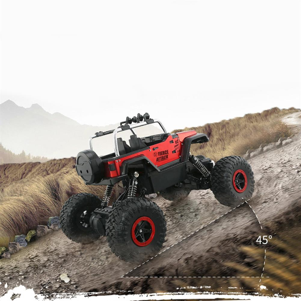 rc-cars 2.4G RC Car High Speed Electric 4CH Rock Crawlers Racing Car Off-Road Vehicles RC1393045 7