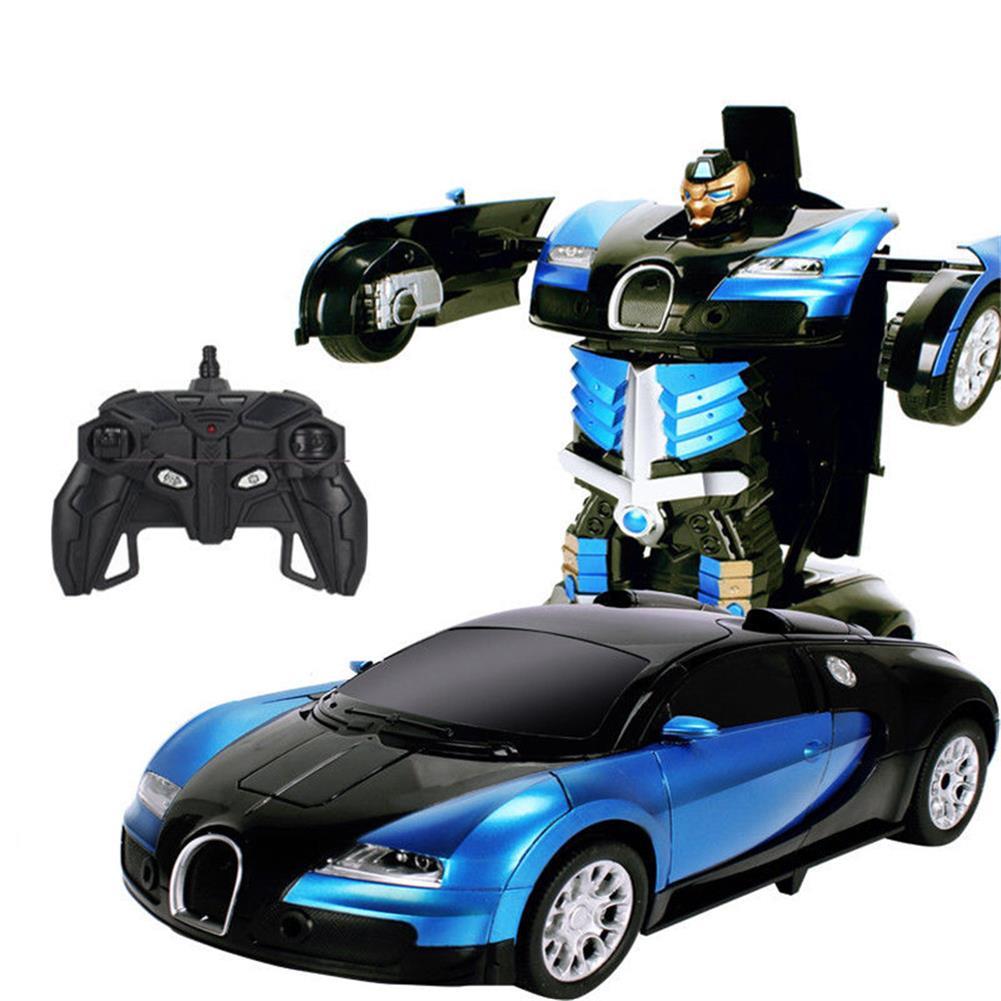 rc-cars Wei Yu Toys 1/14 2.4G Gesture Induction Radio Control Rc Car One-Key Deformation Lighting Robot RC1395995 2