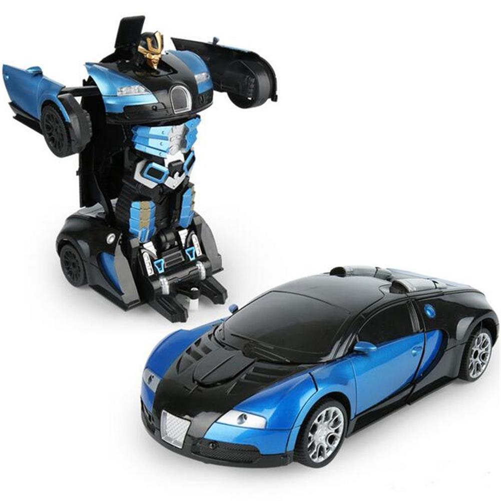 rc-cars Wei Yu Toys 1/14 2.4G Gesture Induction Radio Control Rc Car One-Key Deformation Lighting Robot RC1395995 3