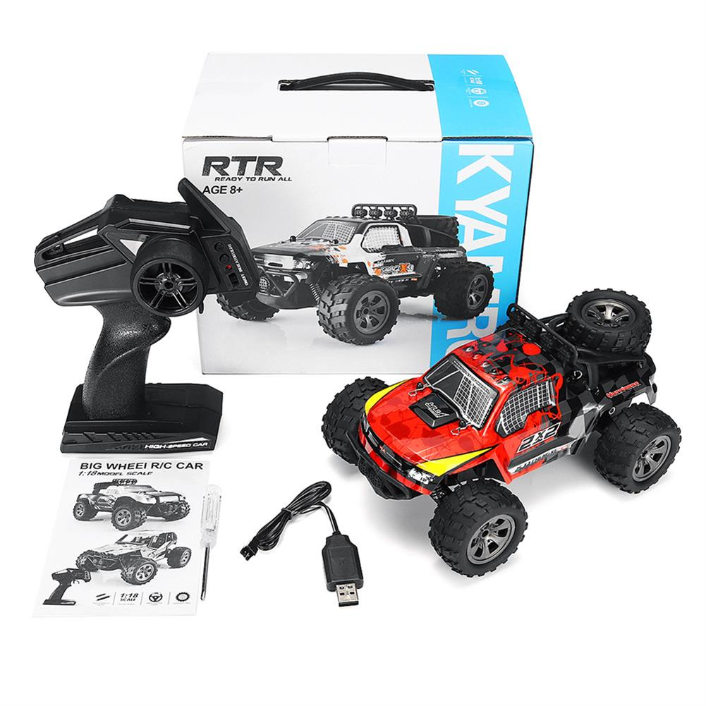 rc-cars KYAMRC 1886 1/18 2.4G 20km/h RWD Rc Car Big Wheel Monster Off-road Truck RTR Toy RC1396024 6