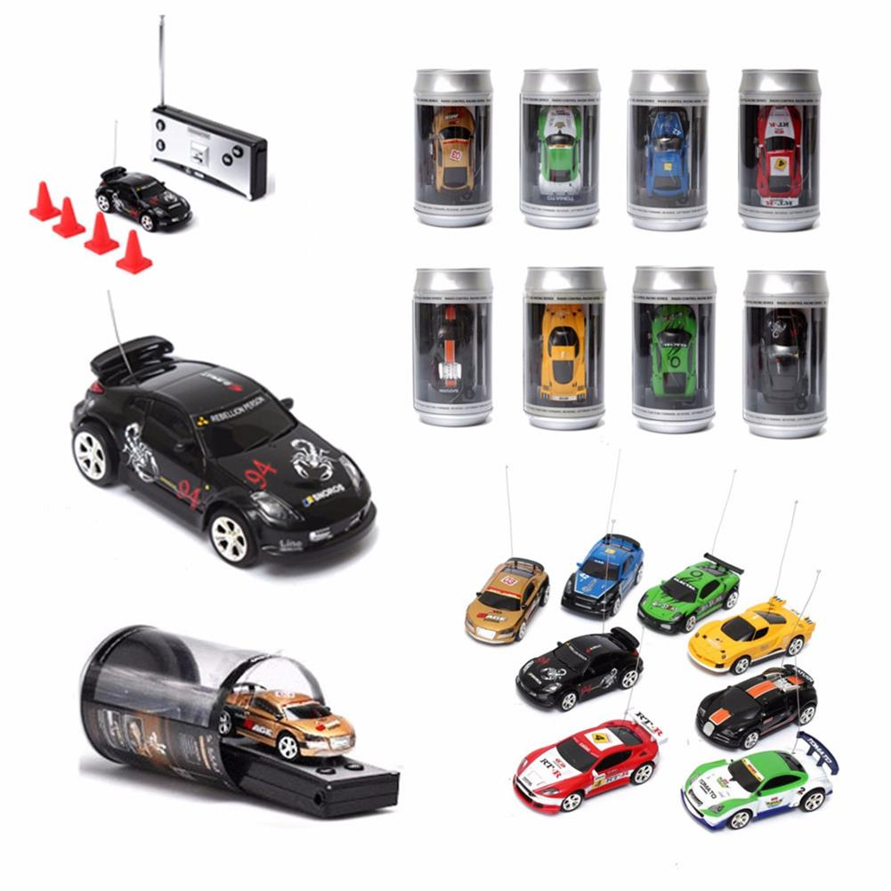 rc-cars Mini Coke Can Remote Radio Control Micro Racing RC Car RC1396787