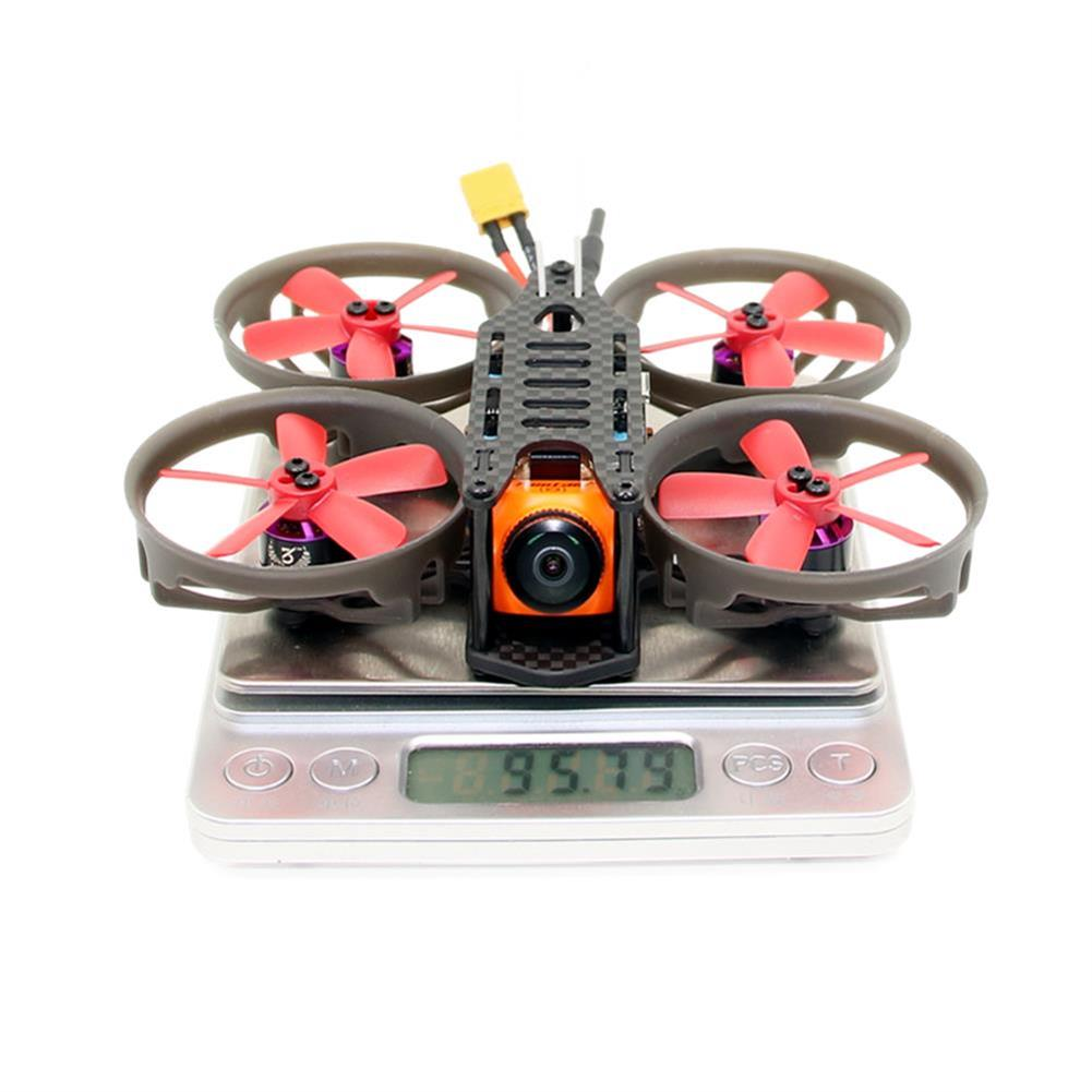 fpv-racing-drones SPC Maker K19 90mm RC FPV Racing Drone PNP BNF Omnibus F4 20A 4in1 BLheli_S RunCam Split Mini 2 RC1397021 3