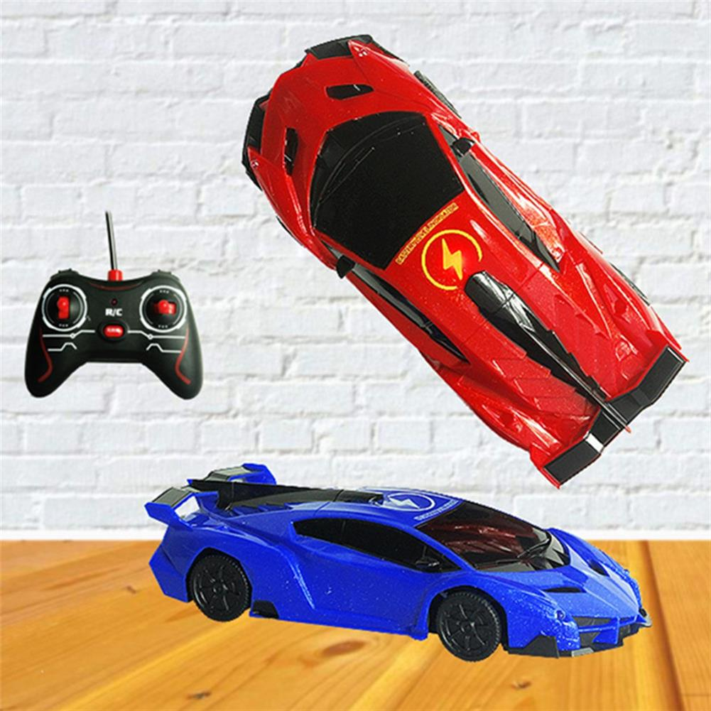 rc-cars 1PC XZS Wireless Control Defying Land Wall Climbing Rc Car Stunt Vehicle W/ Light Rechargable Toy RC1397359
