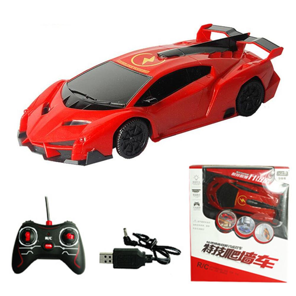 rc-cars 1PC XZS Wireless Control Defying Land Wall Climbing Rc Car Stunt Vehicle W/ Light Rechargable Toy RC1397359 5