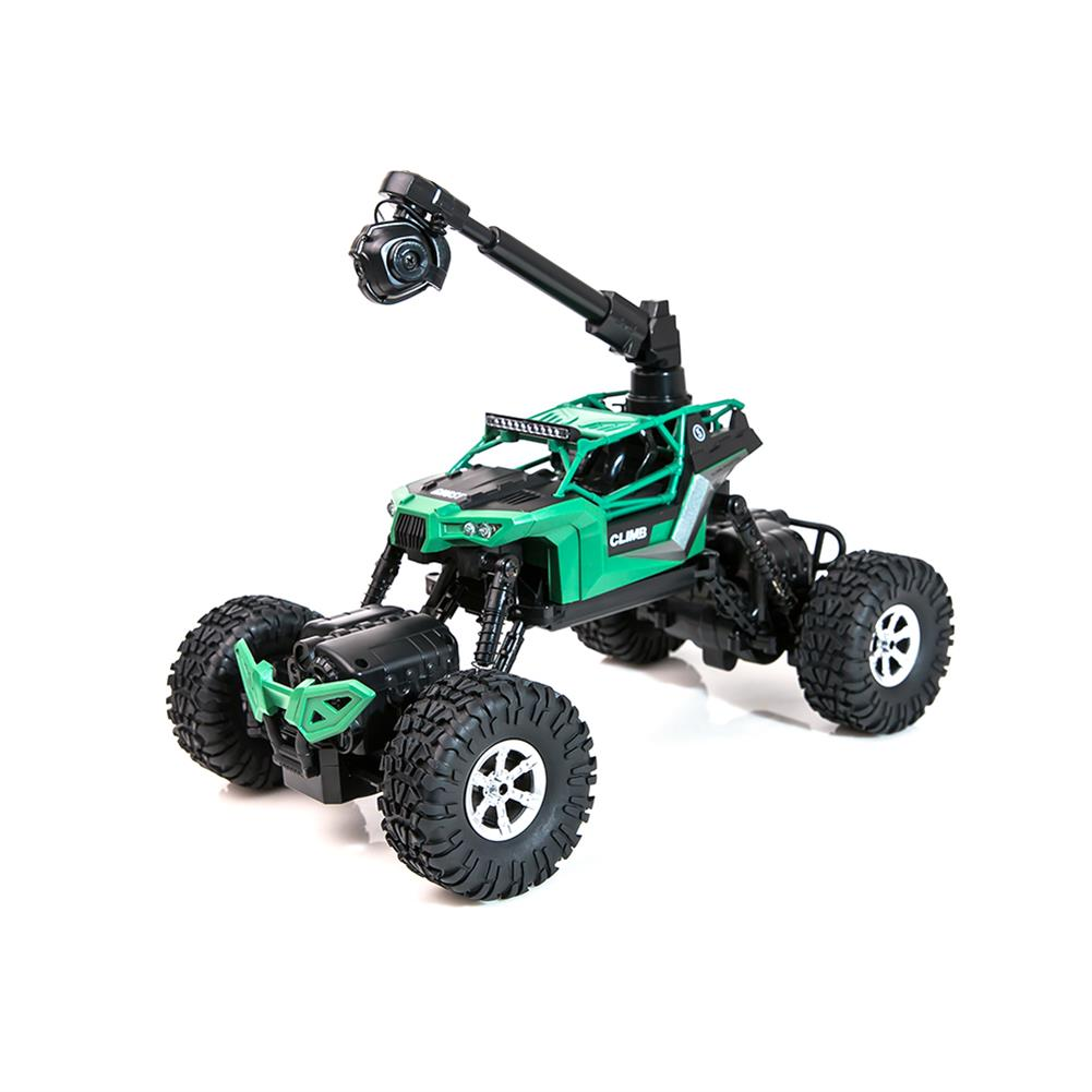 rc-cars Crazon 1/16 2.4G 4WD With Wifi Camera 0.3MP Phone Control Double Turning Waterproof Crawler RC Car RC1397685