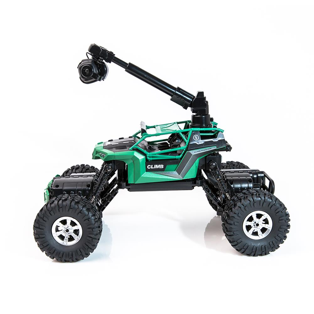 rc-cars Crazon 1/16 2.4G 4WD With Wifi Camera 0.3MP Phone Control Double Turning Waterproof Crawler RC Car RC1397685 2