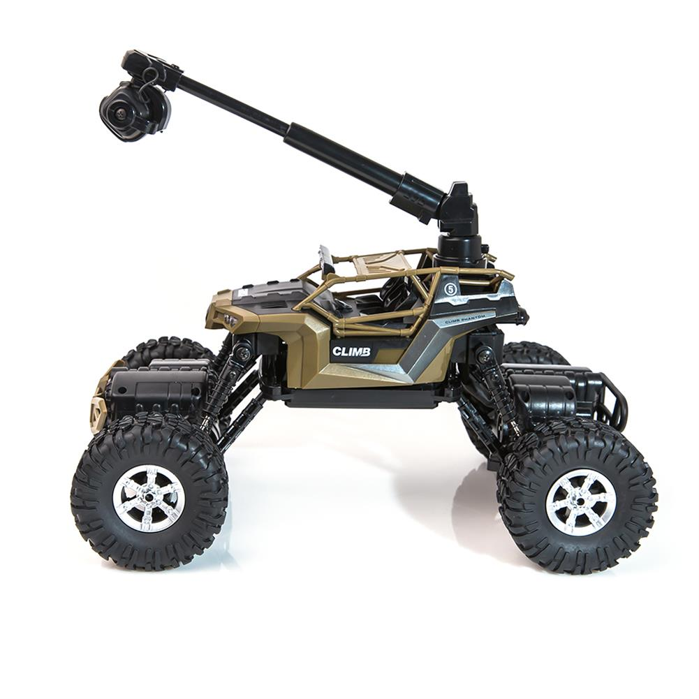 rc-cars Crazon 1/16 2.4G 4WD With Wifi Camera 0.3MP Phone Control Double Turning Waterproof Crawler RC Car RC1397685 7