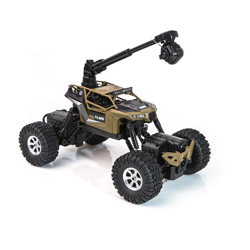 rc-cars Crazon 1/16 2.4G 4WD With Wifi Camera 0.3MP Phone Control Double Turning Waterproof Crawler RC Car RC1397685 9