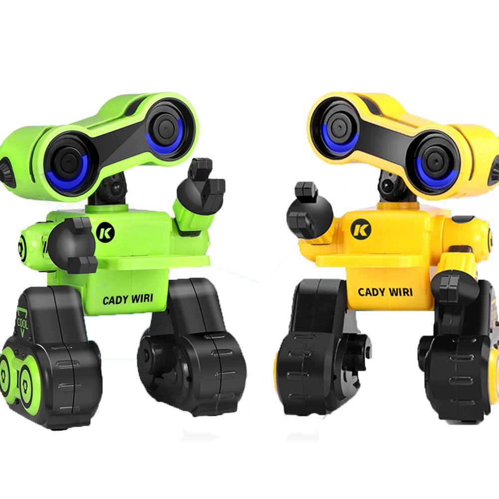 robot-toys JJRC R13 CADY WIRI Smart RC Robot Programmable Touch Control Voice Message Record Sing Dance Toy RC1397697