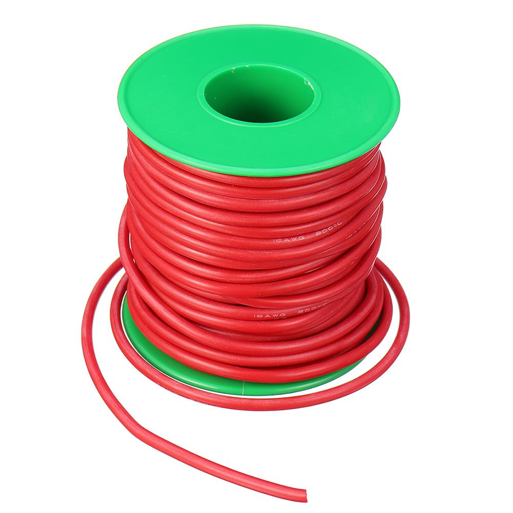 connector-cable-wire 15m 16AWG Soft Silicone Line High Temperature Tinned Copper Flexible Cable Wire RC1398069 4