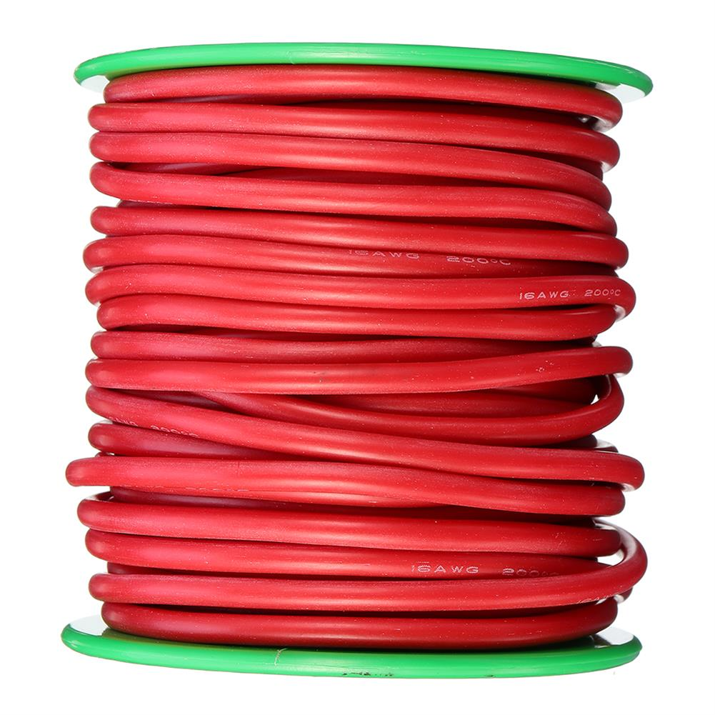 connector-cable-wire 15m 16AWG Soft Silicone Line High Temperature Tinned Copper Flexible Cable Wire RC1398069 5