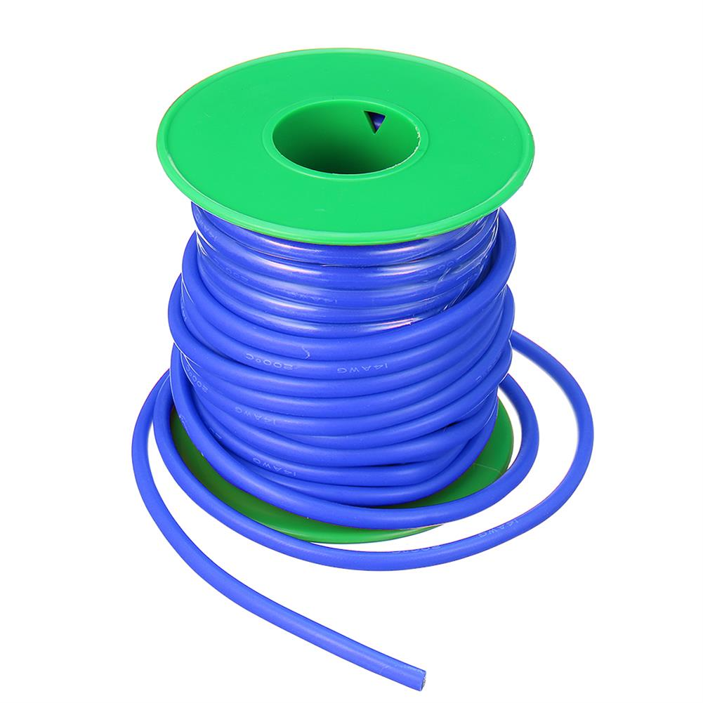 connector-cable-wire 10m 14AWG Wire Soft Silicone Cable Wire High Temperature Tinned Copper RC1398070 2