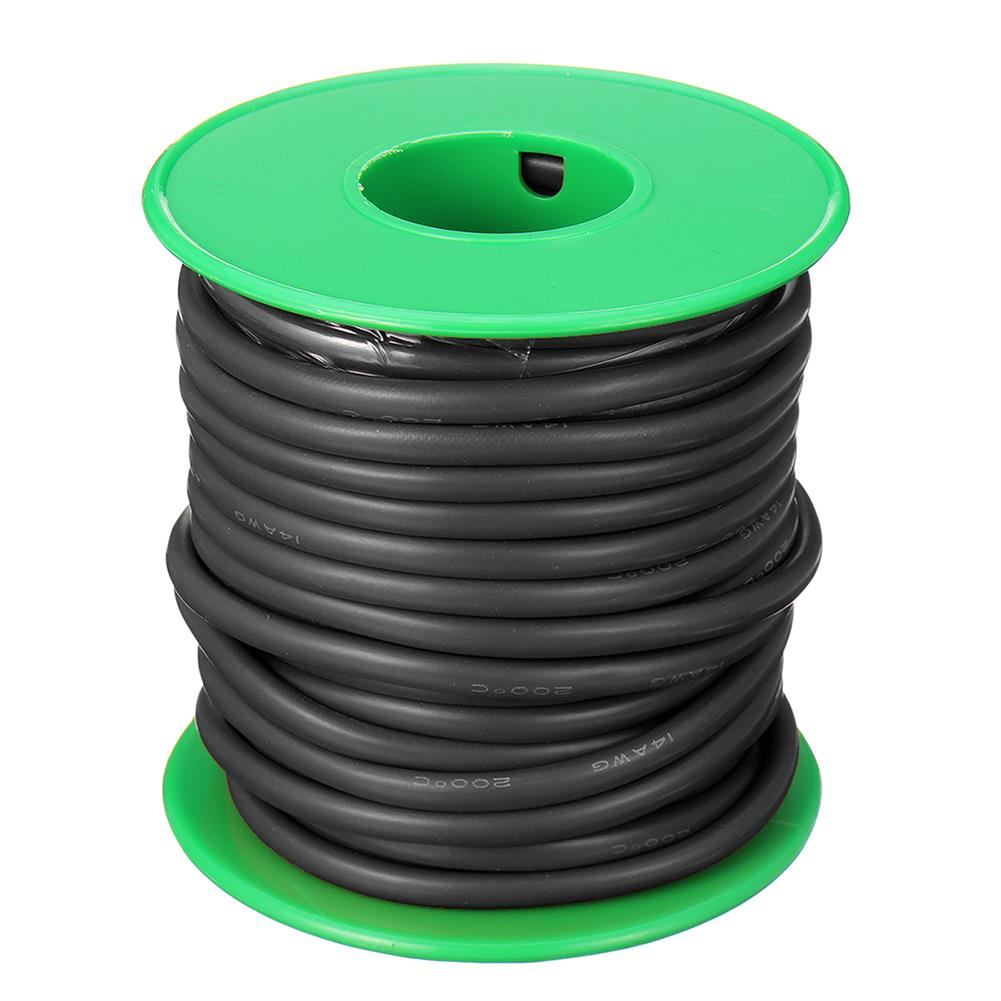 connector-cable-wire 10m 14AWG Wire Soft Silicone Cable Wire High Temperature Tinned Copper RC1398070 4