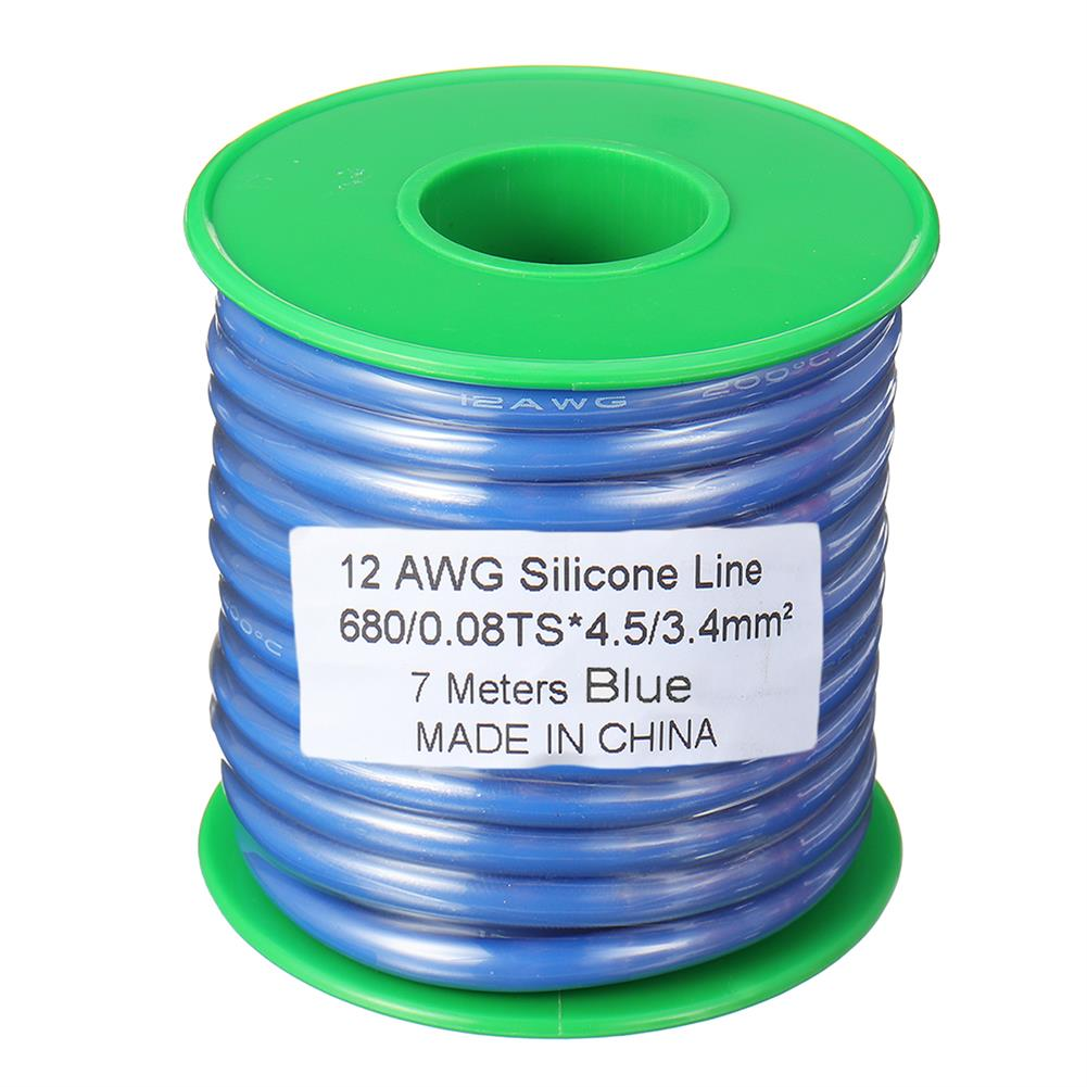 connector-cable-wire 10m 14AWG Wire Soft Silicone Cable Wire High Temperature Tinned Copper RC1398070 6