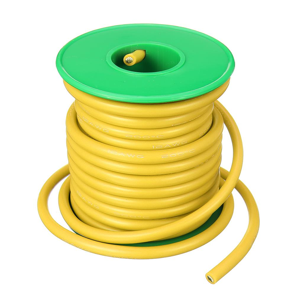 connector-cable-wire 7M 12AWG Soft Silicone Wire Cable High Temperature Tinned Copper RC1398071 2