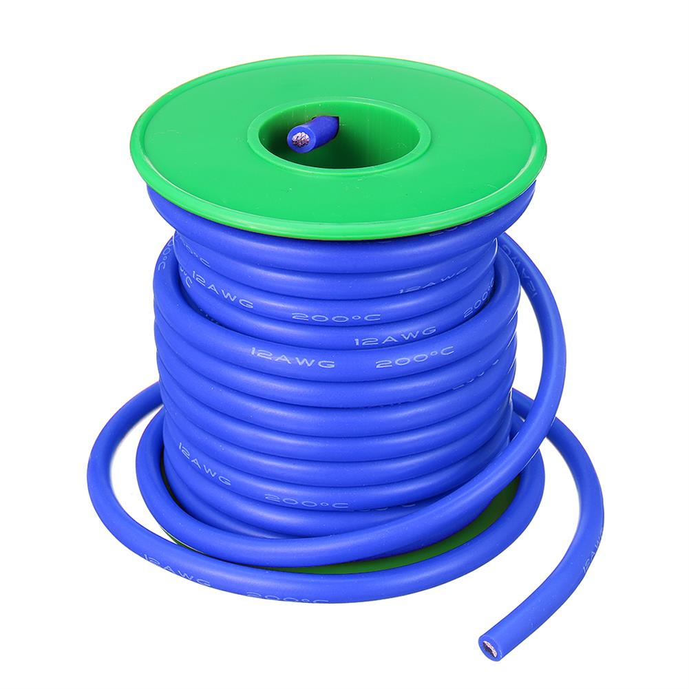 connector-cable-wire 7M 12AWG Soft Silicone Wire Cable High Temperature Tinned Copper RC1398071 6