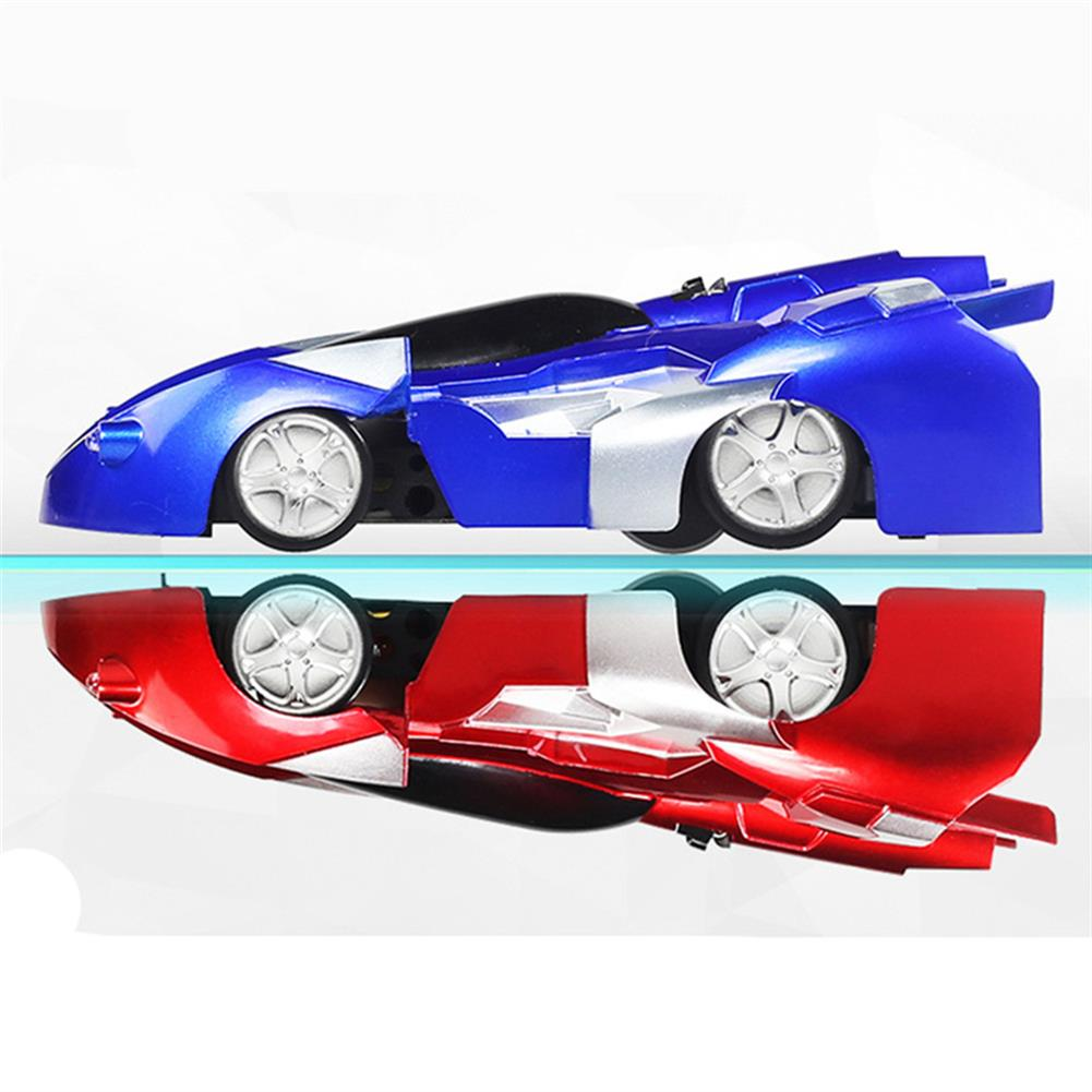 rc-cars 1PC LCF 139-6 Infrared RC Wall Climbing Car Anti Gravity Ceiling Electric Toys With LED Light RC1398574 1