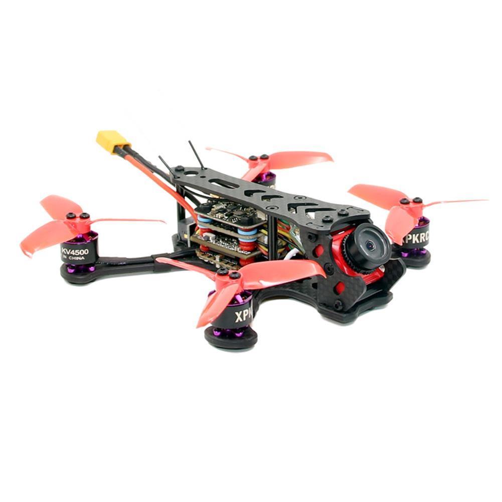 fpv-racing-drones XPKRC K5 120mm FPV Racing Drone PNP BNF Omnibus F4SD 20A mini BLheli_S Caddx Turtle V2 25-200mW VTX RC1398900 1