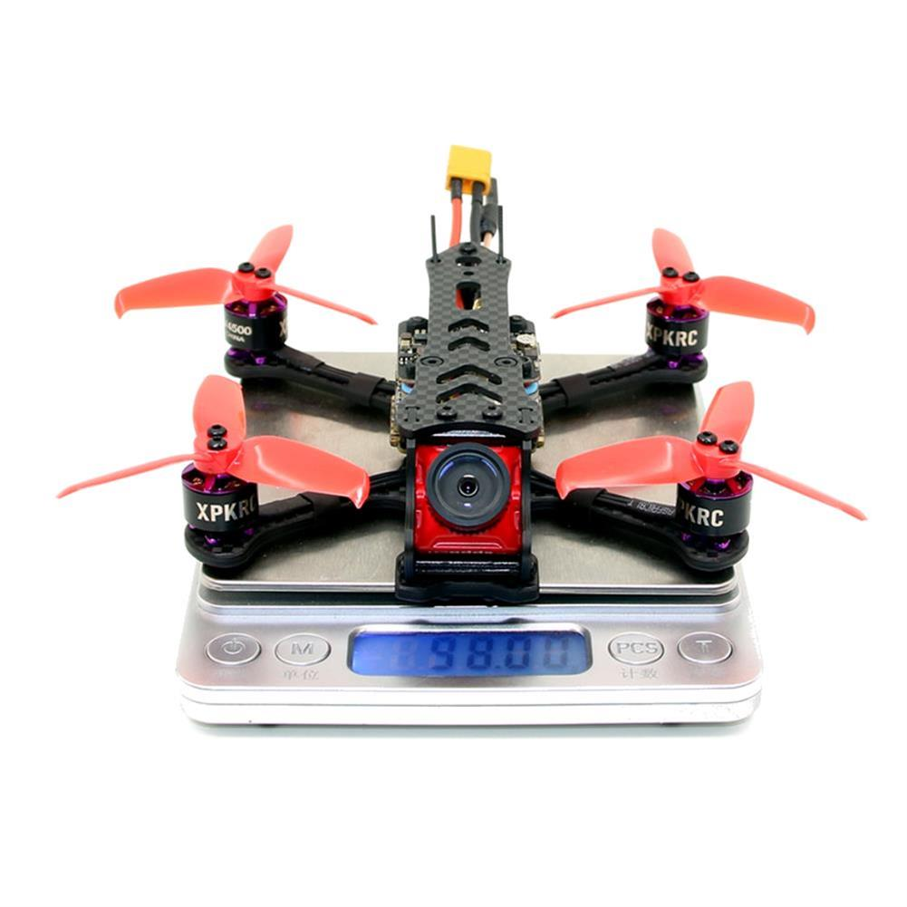 fpv-racing-drones XPKRC K5 120mm FPV Racing Drone PNP BNF Omnibus F4SD 20A mini BLheli_S Caddx Turtle V2 25-200mW VTX RC1398900 3