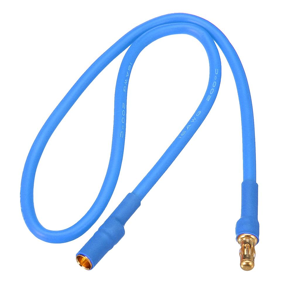 connector-cable-wire 30cm 16AWG 3.5mm Banana Male Female Plug Extension Cable Soft Silicone Wire RC1399694 2