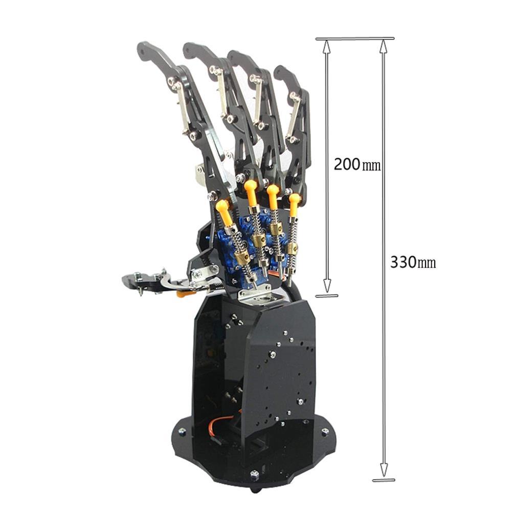 robot-arm-tank DIY 5DOF RC Robot Arm Educational Kit Robot Arm With Servos RC1399699 4