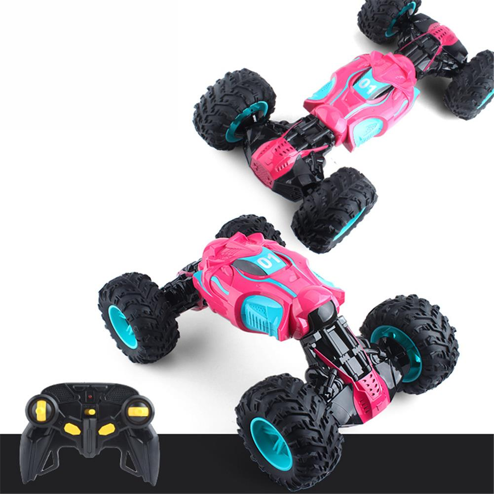 rc-cars 1PC ZhengFei Toys 8850 2.4G 4WD 20km/h Double Sided Stunt Rc Car Deformation Climbing Off-road Truck RC1399868 1