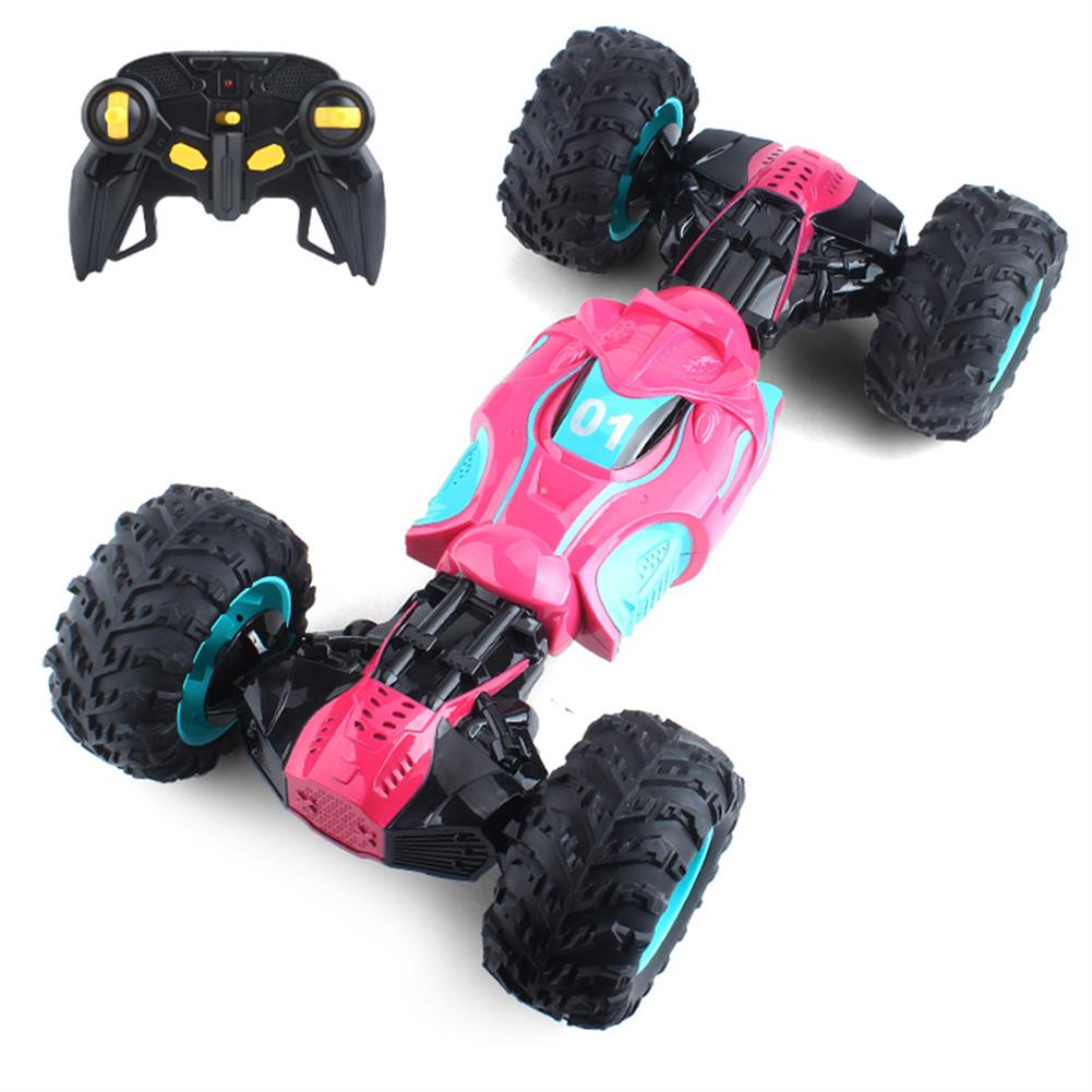 rc-cars 1PC ZhengFei Toys 8850 2.4G 4WD 20km/h Double Sided Stunt Rc Car Deformation Climbing Off-road Truck RC1399868 2