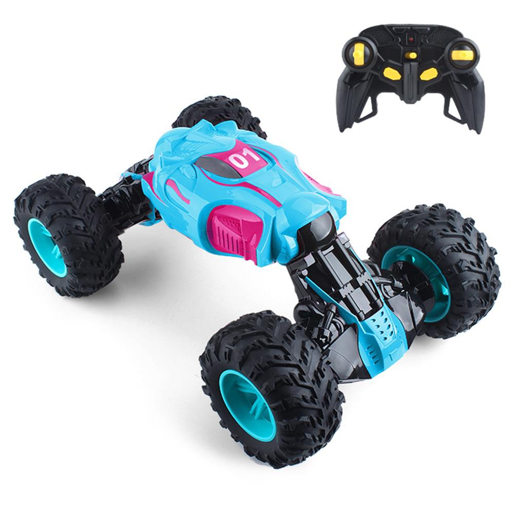 rc-cars 1PC ZhengFei Toys 8850 2.4G 4WD 20km/h Double Sided Stunt Rc Car Deformation Climbing Off-road Truck RC1399868 3
