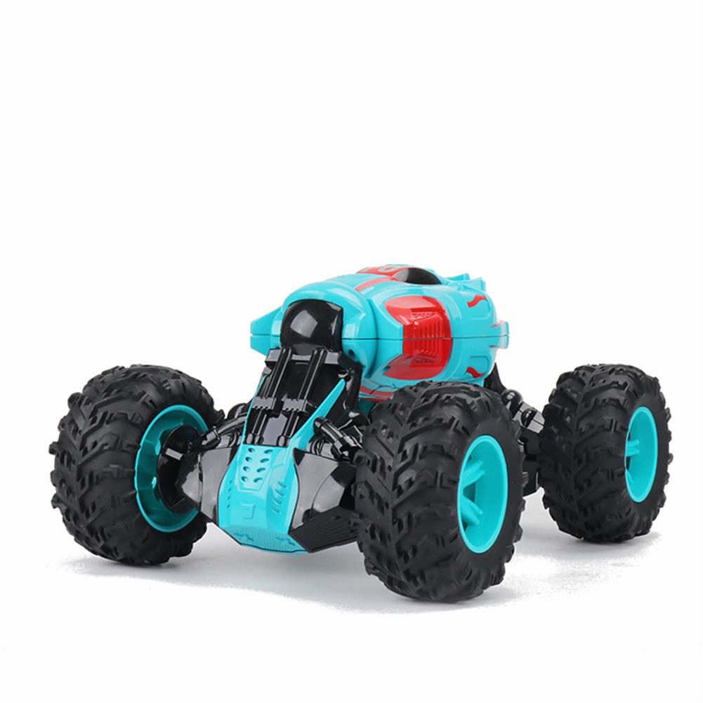 rc-cars 1PC ZhengFei Toys 8850 2.4G 4WD 20km/h Double Sided Stunt Rc Car Deformation Climbing Off-road Truck RC1399868 4