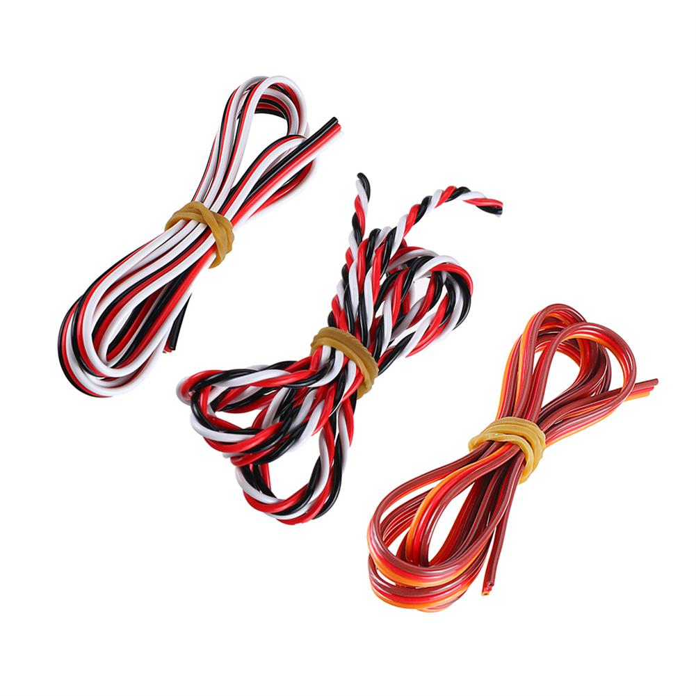 connector-cable-wire 1M 3P Dupont Line Servo Extension Cable Wire for RC Models RC1402993