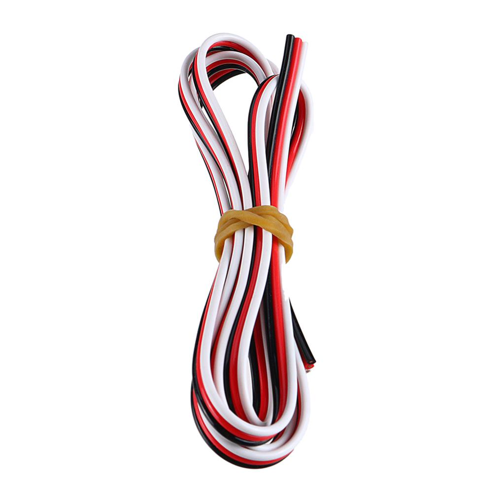 connector-cable-wire 1M 3P Dupont Line Servo Extension Cable Wire for RC Models RC1402993 3