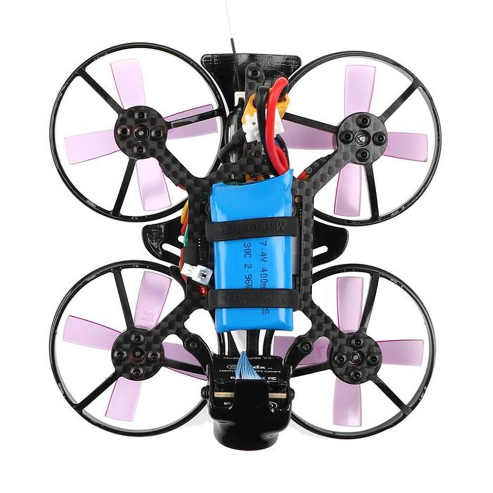 fpv-racing-drones Makerfire Armor 85mm FPV Racing Drone F3 FC OSD Caddx Turtle V2 HD Cam 5.8G 40CH 25/100mW VTX 2-3S RC1405858 4