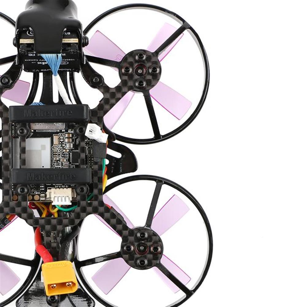 fpv-racing-drones Makerfire Armor 85mm FPV Racing Drone F3 FC OSD Caddx Turtle V2 HD Cam 5.8G 40CH 25/100mW VTX 2-3S RC1405858 5