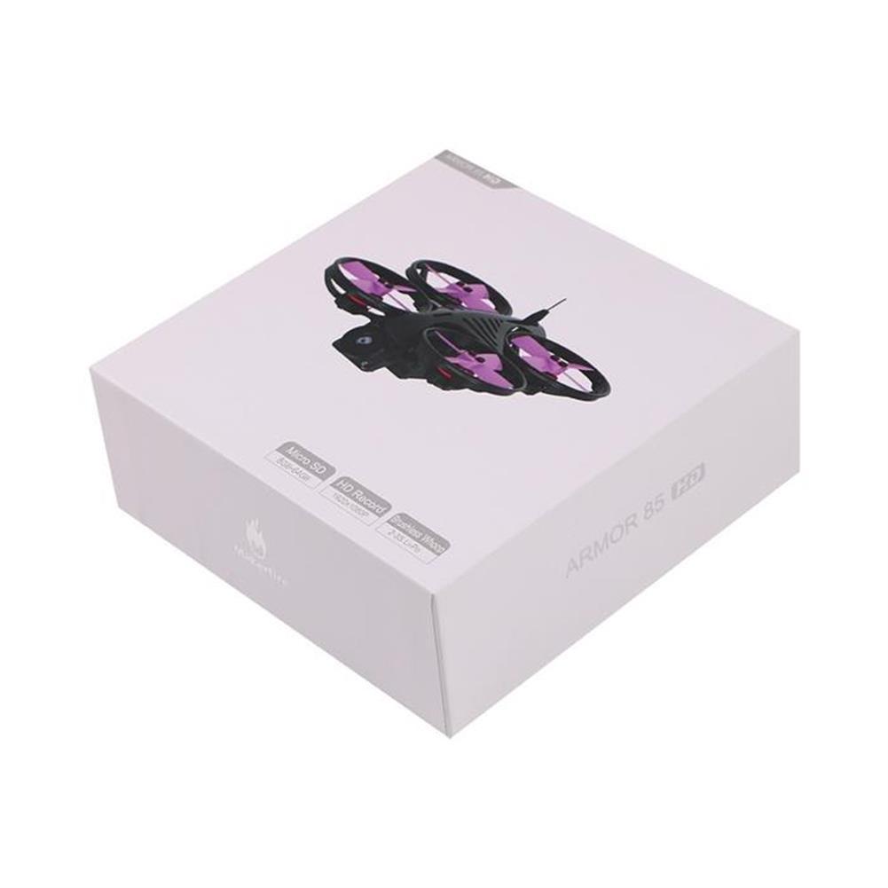 fpv-racing-drones Makerfire Armor 85mm FPV Racing Drone F3 FC OSD Caddx Turtle V2 HD Cam 5.8G 40CH 25/100mW VTX 2-3S RC1405858 9