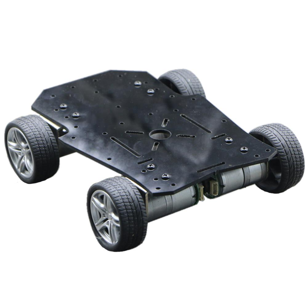 smart-robot-car 4WD Tricycle DIY Metal Smart RC Robot Car Chassis Base RC1408945