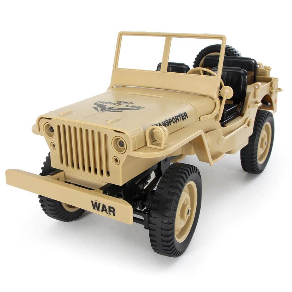 rc-cars CES NEWS' JJRC Q65 2.4G 1/10 Jedi Proportional Control Crawler 4WD Off-Road RC Car RC1410252 2