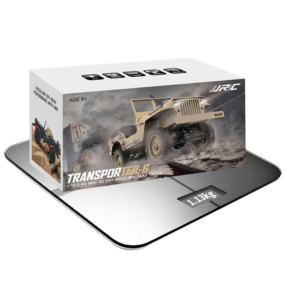 rc-cars CES NEWS' JJRC Q65 2.4G 1/10 Jedi Proportional Control Crawler 4WD Off-Road RC Car RC1410252 8