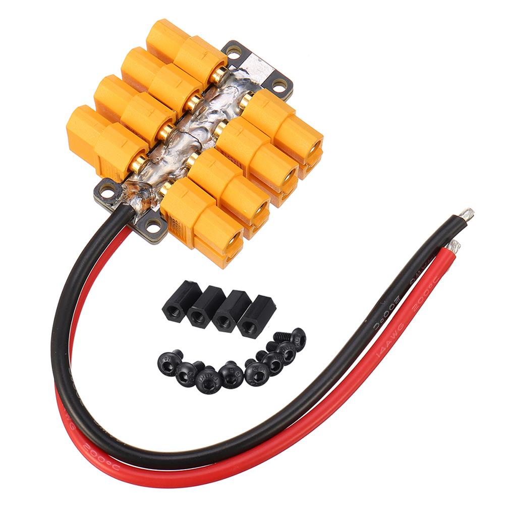 connector-cable-wire High Current PCB Power Distribution Board 20AWG Wire for DIY RC Multicopter Drone RC1412823