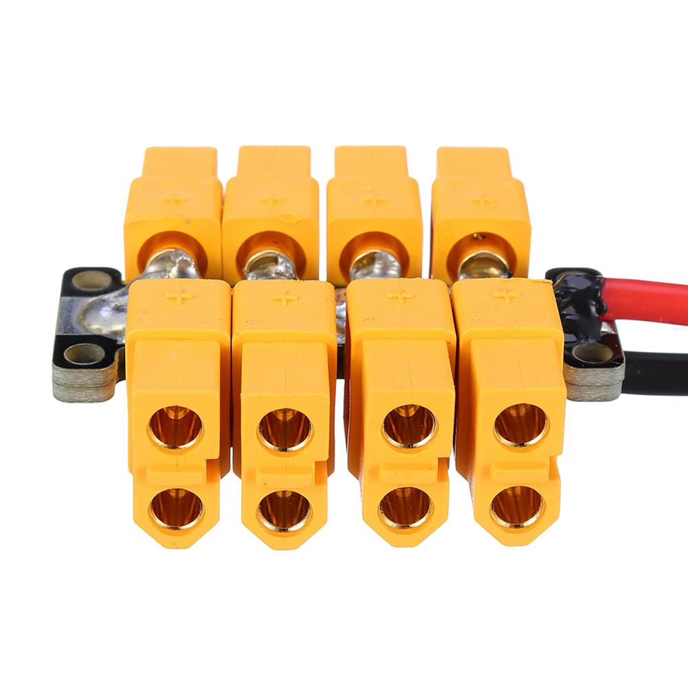 connector-cable-wire High Current PCB Power Distribution Board 20AWG Wire for DIY RC Multicopter Drone RC1412823 1