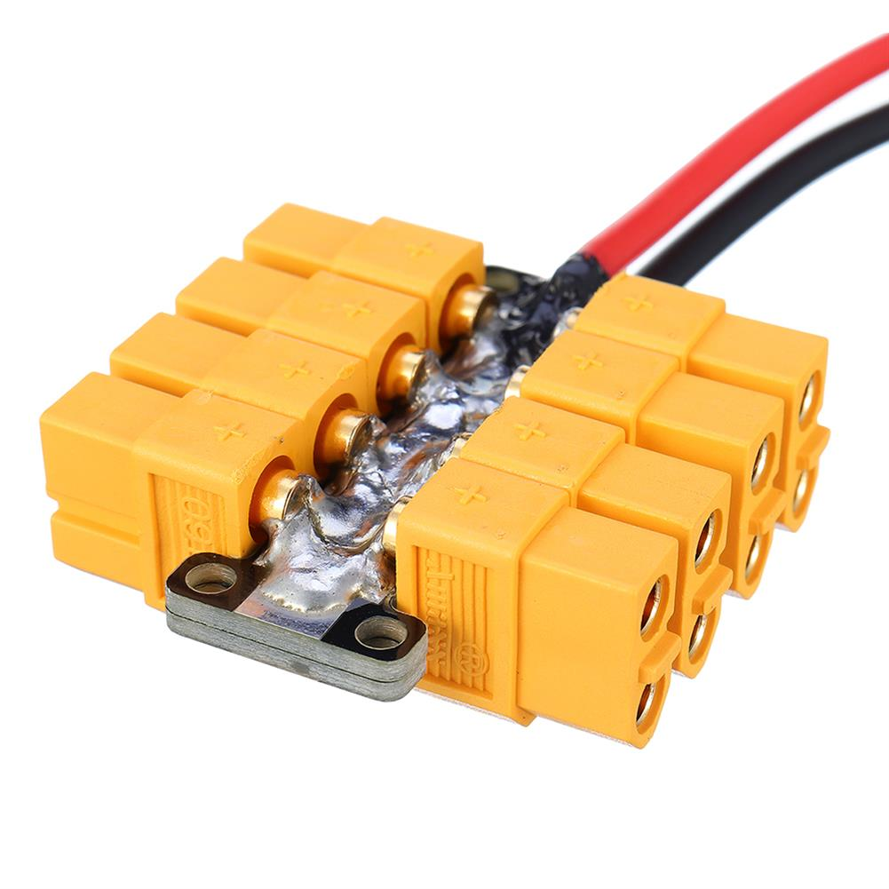 connector-cable-wire High Current PCB Power Distribution Board 20AWG Wire for DIY RC Multicopter Drone RC1412823 2