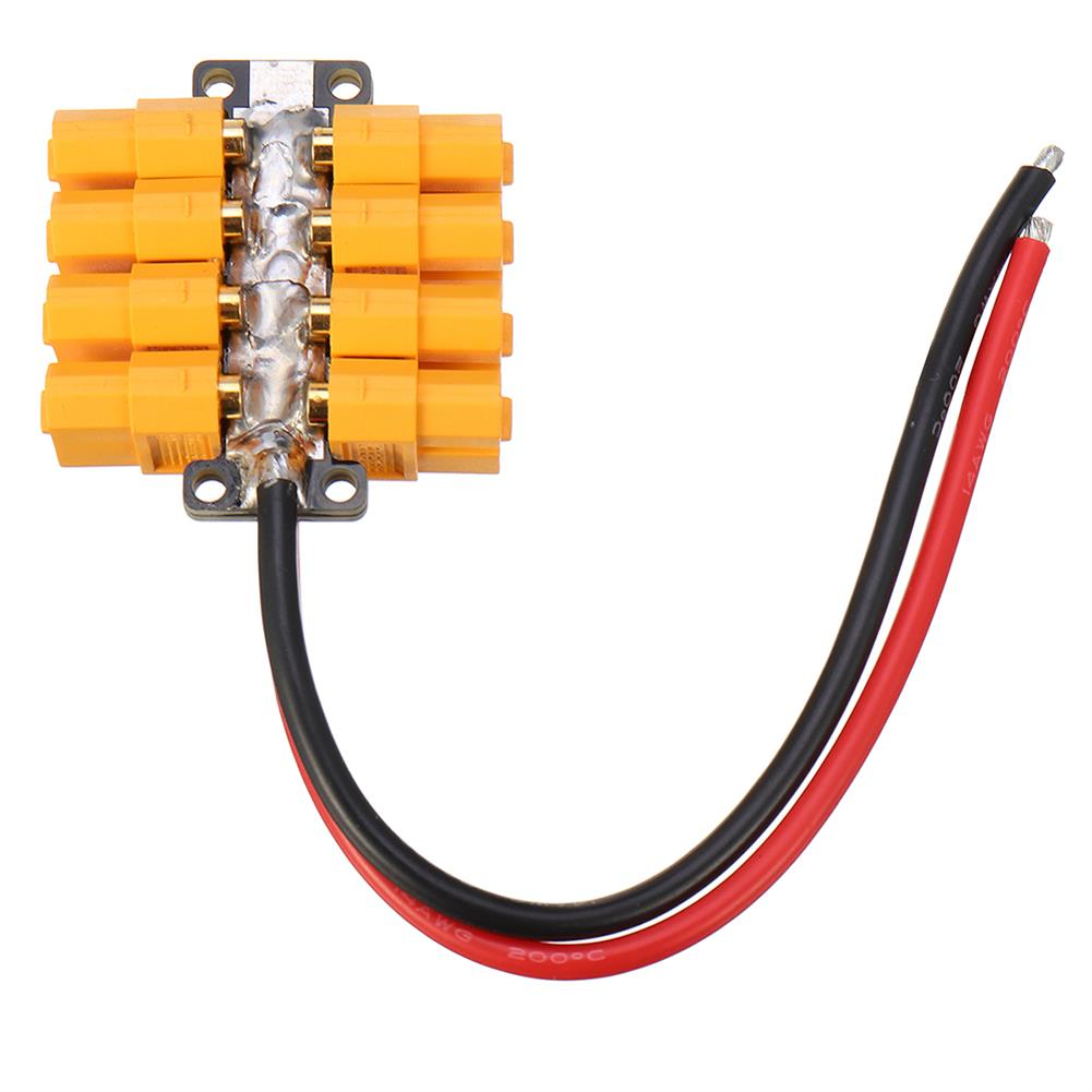 connector-cable-wire High Current PCB Power Distribution Board 20AWG Wire for DIY RC Multicopter Drone RC1412823 3