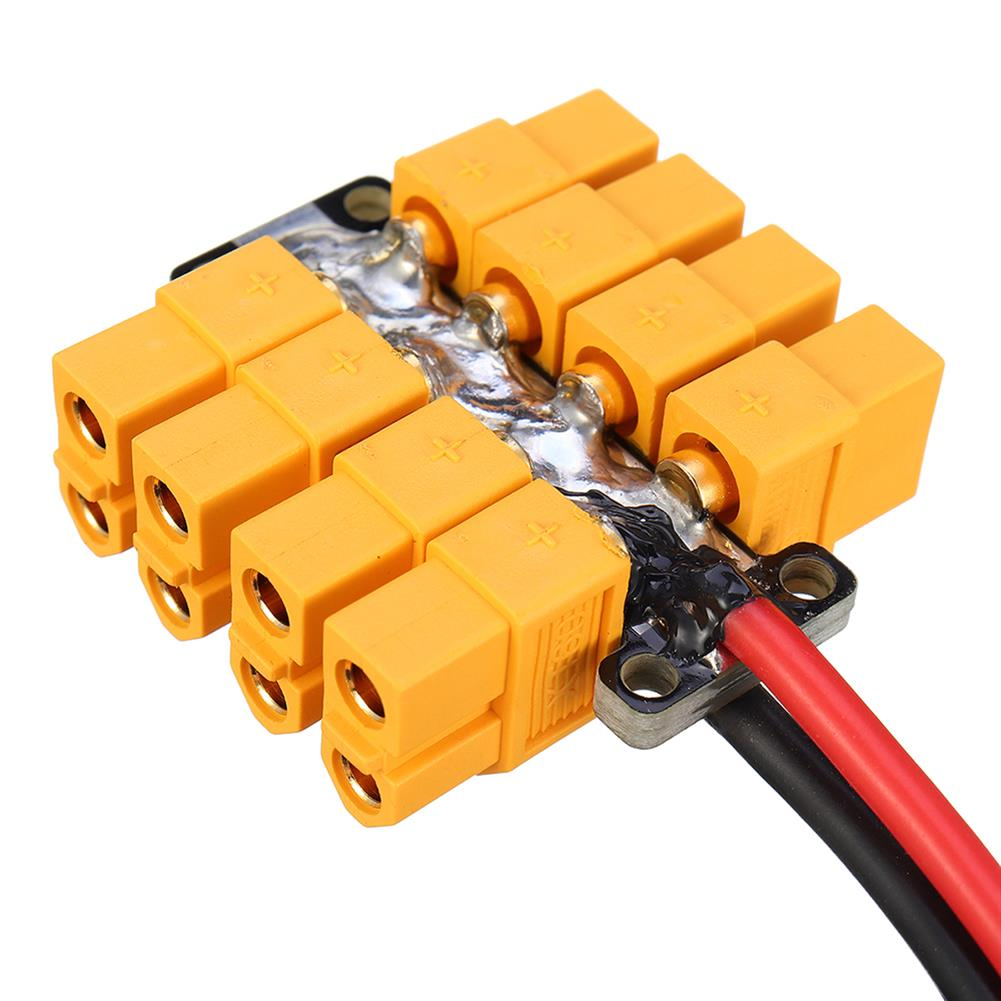 connector-cable-wire High Current PCB Power Distribution Board 20AWG Wire for DIY RC Multicopter Drone RC1412823 5
