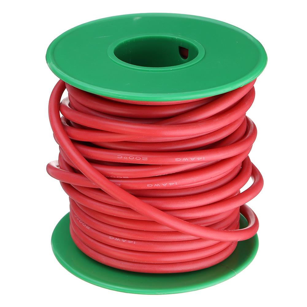 connector-cable-wire 10M 14AWG Soft Silicone Wire Cable High Temperature Tinned Copper Line RC1413927 4