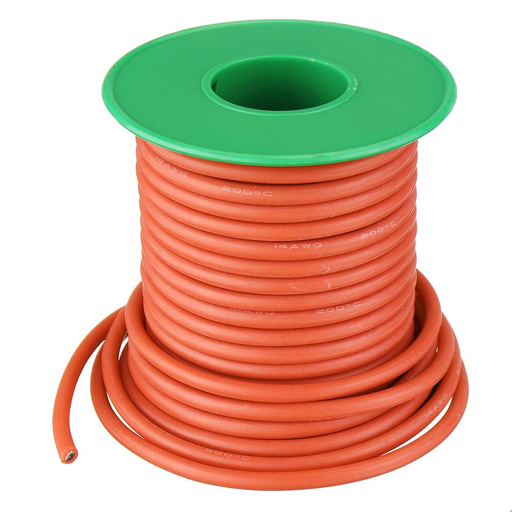 connector-cable-wire 10M 14AWG Soft Silicone Wire Cable High Temperature Tinned Copper Line RC1413927 5