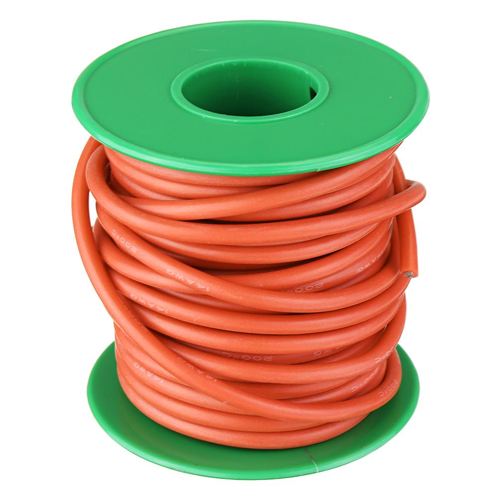 connector-cable-wire 10M 14AWG Soft Silicone Wire Cable High Temperature Tinned Copper Line RC1413927 6