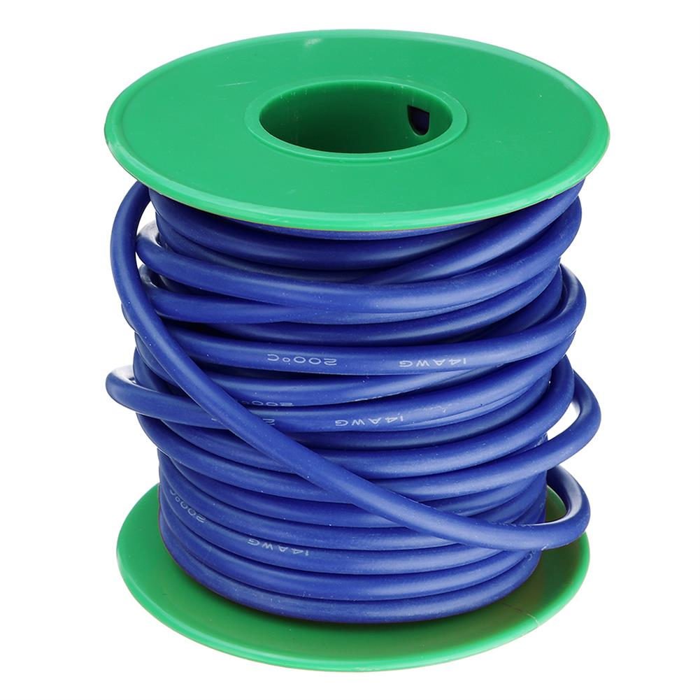 connector-cable-wire 10M 14AWG Soft Silicone Wire Cable High Temperature Tinned Copper Line RC1413927 7
